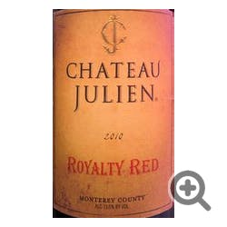 Chateau Julien Royalty Red 2012