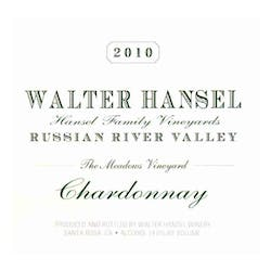 Walter Hansel 'The Meadows' Chardonnay 2012 image