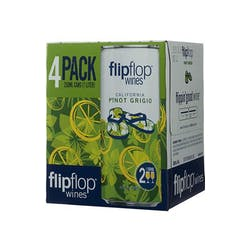 Flipflop Wines Pinot Grigio 4-250ml Cans image