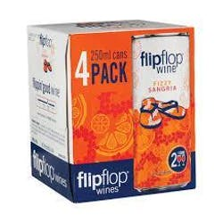 Flipflop Wines Fizzy Sangria 4-250ml Cans image