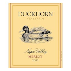 Duckhorn Vineyards Merlot 2012 image