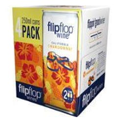 Flipflop Wines Chardonnay 4-250ml Cans image