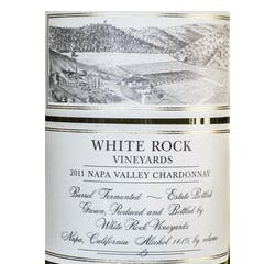 White Rock Vineyards Chardonnay 2011 image