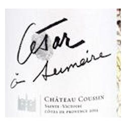 Chateau Coussin Cesar A Sumeire Rose 2014 image