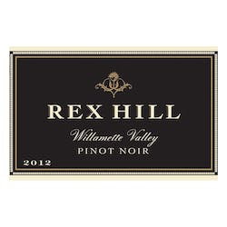 Rex Hill 'Willamette Valley' Pinot Noir 2012 image