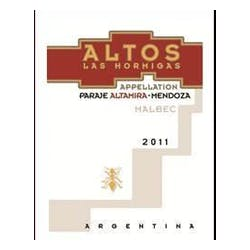 Altos 'Altamira' Malbec 2013 image