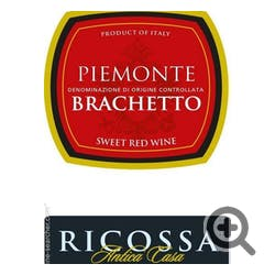Ricossa Antica Casa 'Brachetto' Sweet Red NV