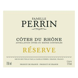 Perrin Famille 'Reserve' Blanc 2014 image