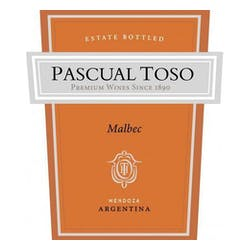 Pascual Toso Malbec 2013 image
