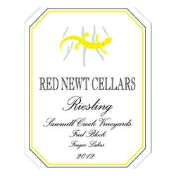 Red Newt Cellars 'Fred Block' Riesling 2012 image