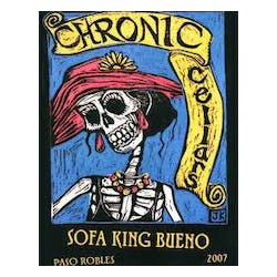 Chronic Cellars 'Sofa King Bueno' Red 2013 image
