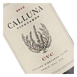 Calluna Vineyards 'CVC' Chalk Hill 2012 image