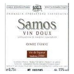 Samos Winery Muscat Vin Doux 2013 500ml image