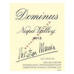 Dominus Proprietary Red 2012 image