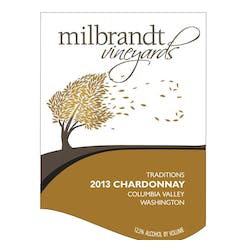Milbrandt Traditions Chardonnay 2013 image