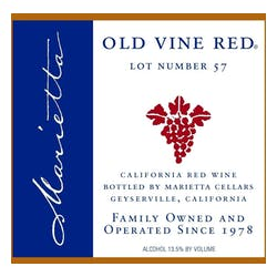 Marietta Cellars Old Vine Red Lot 62 image