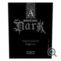 Apothic Wines 'Dark' Red Blend 2014
