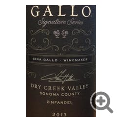 Gallo Family Signature Series 'Dry Creek' Zinfandel 2013