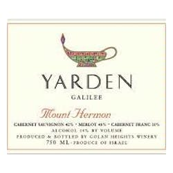 Yarden Mount Hermon Red 2012 image