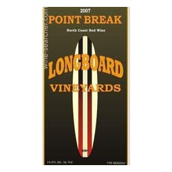 Longboard Vineyards 'Point Break' Red Blend 2013 image