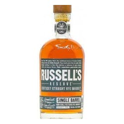 Russell's Reserve Single Barrel Rye 104proof image