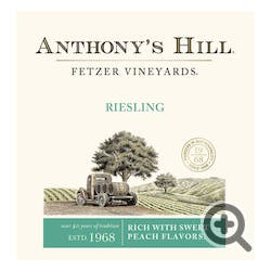Fetzer 'Anthony's Hill' Riesling 1.5L
