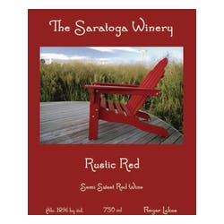 The Saratoga Winery 'Rustic Red' Blend NV image
