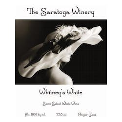 The Saratoga Winery 'Whitney's White' Blend NV image