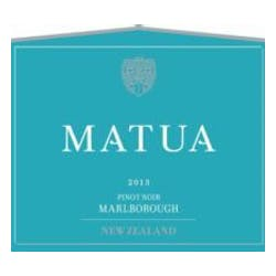 Matua Valley Winery Pinot Noir 2015 image