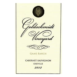 Goldschmidt 'Game Ranch' Cabernet Sauvignon 2012 image
