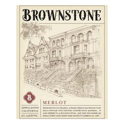 Brownstone Merlot NV image