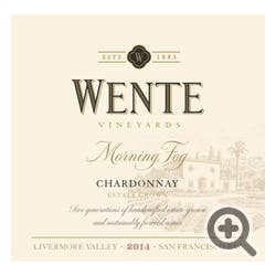 Wente Vineyards 'Morning Fog' Chardonnay 2014