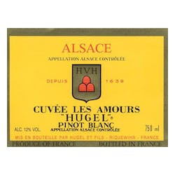 Hugel 'Cuvee Les Amours' Pinot Blanc 2013 image