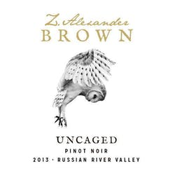 Z. Alexander Brown 'Uncaged' Pinot Noir 2013 image