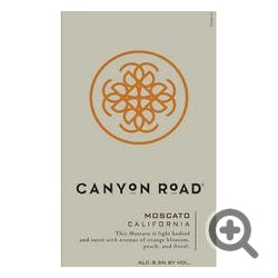 Canyon Road Wines Moscato