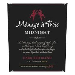 Menage a Trois 'Midnight' Red Blend 2014 image