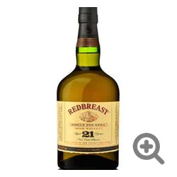 Redbreast 21yr Irish 750ml Single Pot Still