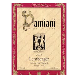 Damiani Wine Cellars 'Sunrise Hill' Lemberger 2013 image