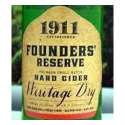 1911 Hard Cider Founders' Reserve Heritage Dry image