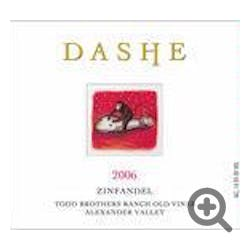 Dashe 'Todd Brothers' Zinfandel 2012