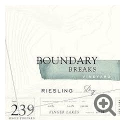 Boundary Breaks 'No. 239' Dry Riesling 2014