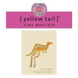 Yellow Tail Pink Moscato image