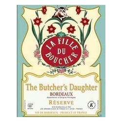 The Butcher's Daughter 'Reserve' Bordeaux 2012 image