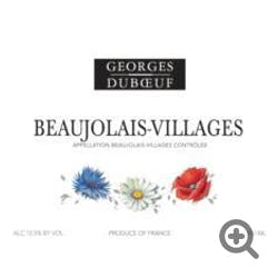 George Duboeuf Beaujolais Villages 2013