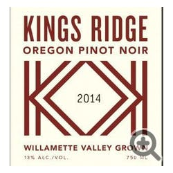 King's Ridge Pinot Noir 2014