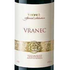 Tikves Wines Special Selection Vranec 2013
