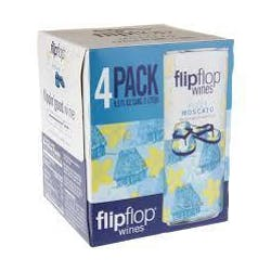 Flipflop Wines Fizzy Moscato 4-250ml Cans image