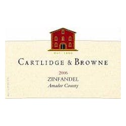 Cartlidge & Browne Zinfandel 2012 image