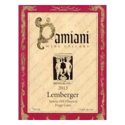 Damiani Wine Cellars 'Sunrise Hill' Lemberger 2014 image
