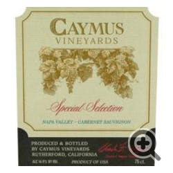 Caymus Vineyards Special Selection Cabernet Sauv 2013